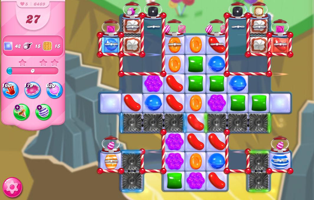 Candy Crush Saga level 6469