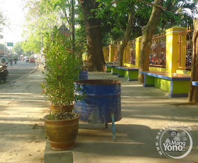 FOTO : Halte Bus Go Green Asli Di Dangdeur, Subang