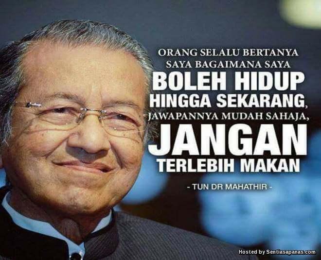 Allah Panjangkan Usia Tun Mahathir