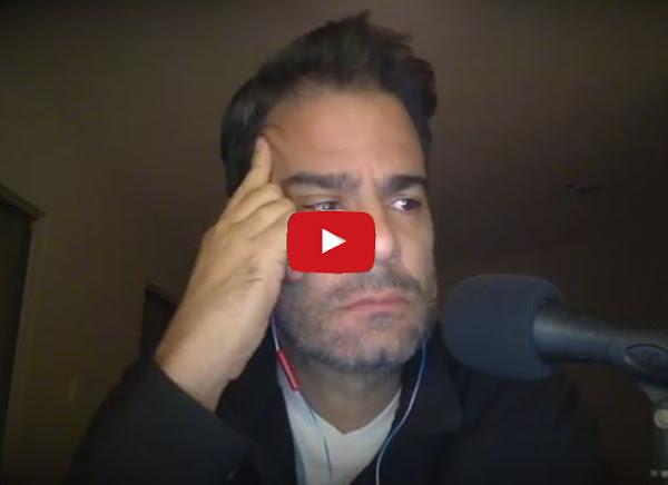 Luis Chataing llorando se despide de Venezuela y de la radio