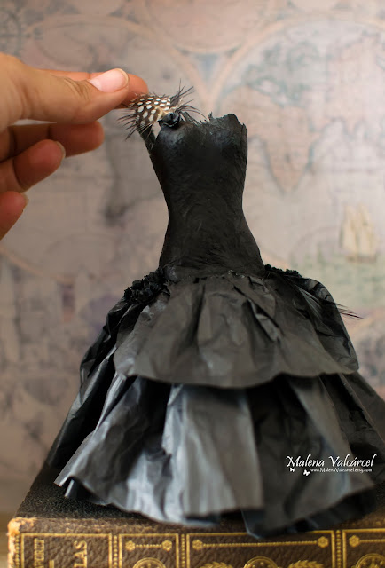miniature-paper-dress