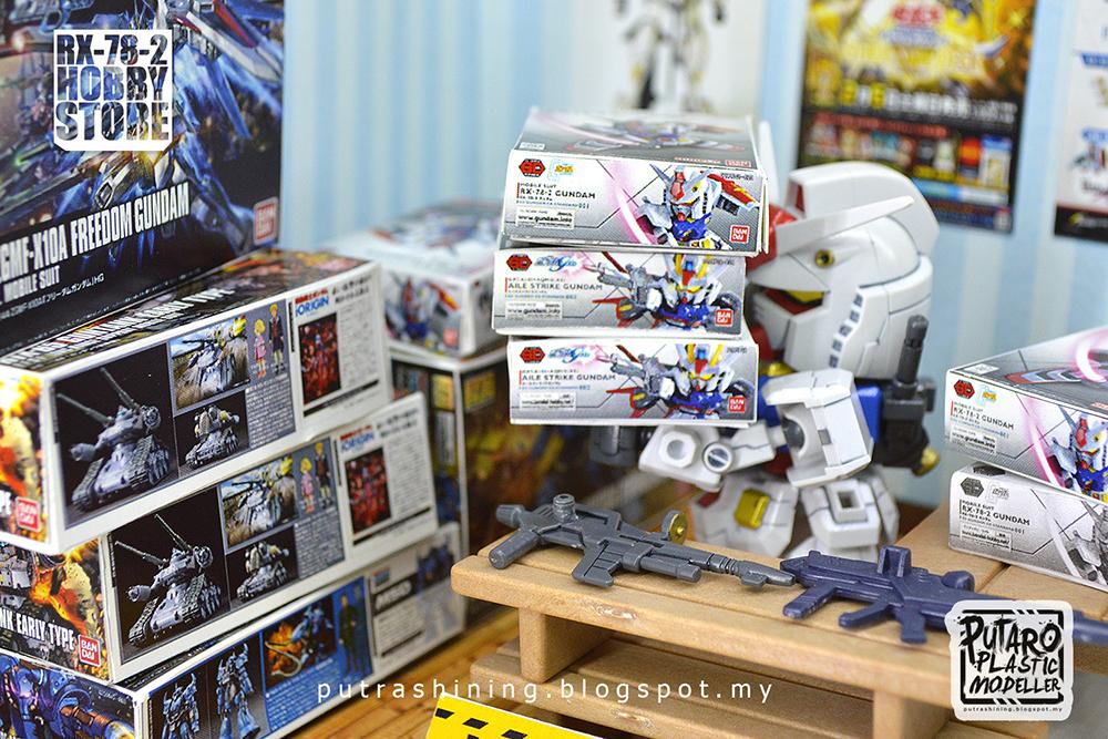 "SD Gundam EX-Standard RX-78-2 special custom ""RX-78-2 Hobby Store"" by Putra Shining"