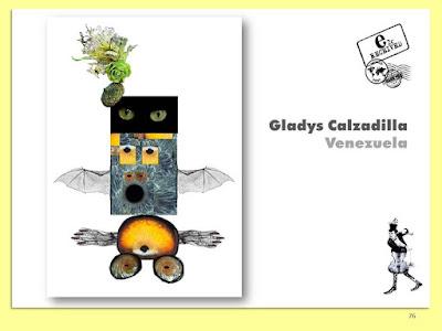 Gladys Calzadilla, Despertar, Collage Digital, Arte Postal, Espacio 2C, Exposición Colectiva #CadaverExquisito #MailArt en #sanmigueldearbona #BacosSanMiguel Tenerife