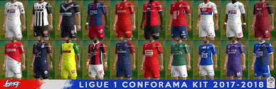 PES 2013 Ligue 1 Conforama Kitpack Season 2017/2018 by BMG Kitmaker