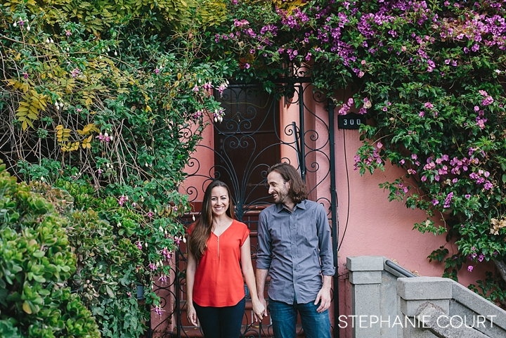 north beach engagement session