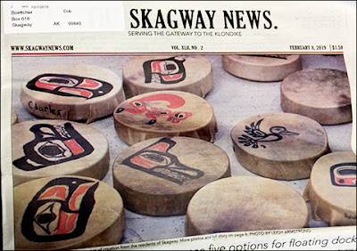 Skagway News Front Page Feb 9, 2009