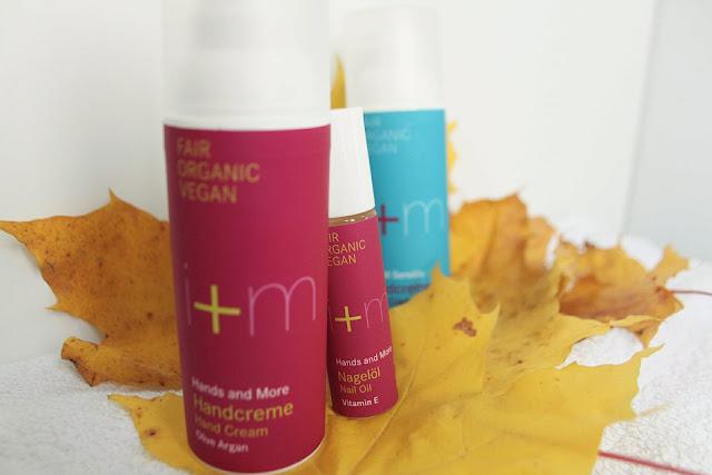vegaani käsivoide i+m kosmetiks luonnonkosmetiikka e-vitamiini kynsiöljy