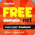 Jangan Lewatkan Promo Domain Gratis!!