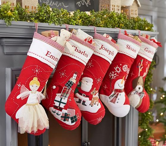 Pb Kids Personalized Xmas Stockings Starting At 13 Reg 30