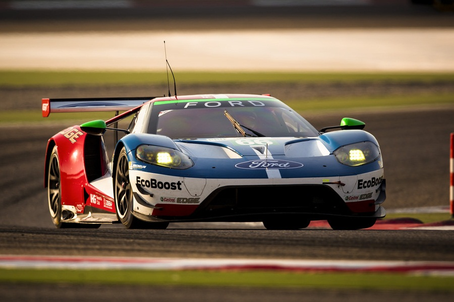 The Scene Is Set For A Thrilling Gte Pro Championship Showdown After Andy Priaulx And Harry Tincknell Qualified The  Ford Gt Ahead Of Their Main