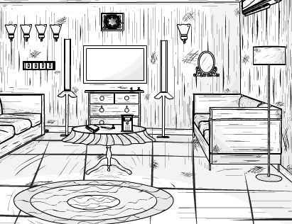 EightGames B And W House Escape Walkthrough