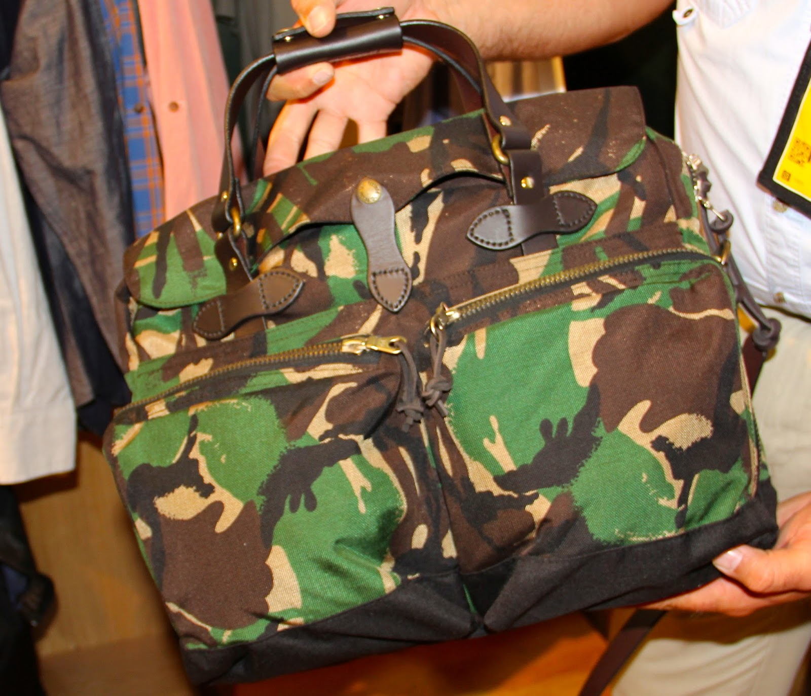 Outdoor Retailer New Cool Gadgets Gear Apparel Footwear S 2014 Part 5 Espro Napoly Genuine Leather Portofolio Bag Black Hr Briefcase 485 In Camo Made To Go The Distance With Cordura Tough Water Repellent Fabric Top Of Line Riri Zippers W Zipper Pulls Closing
