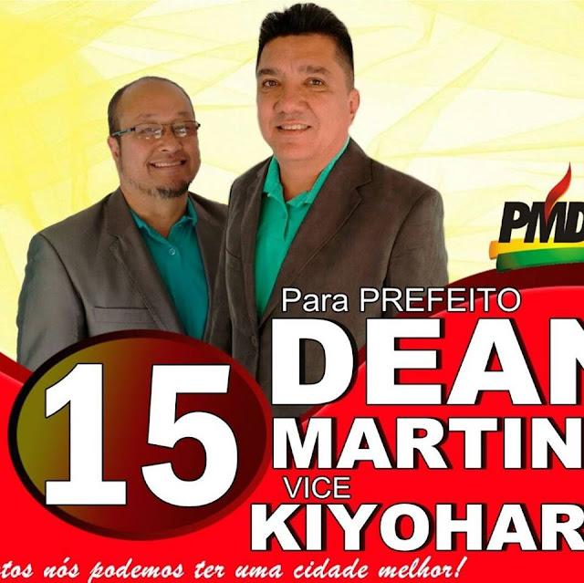 Dean Martins é eleito prefeito de Sete Barras