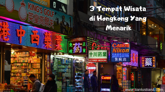 3 Tempat Wisata di Hongkong Yang Menarik