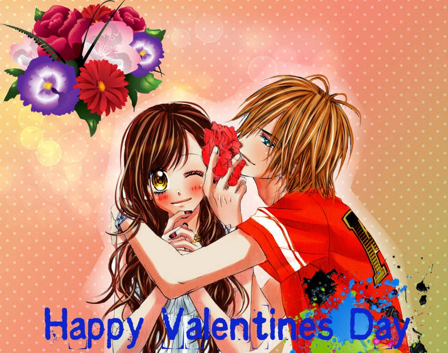 Anime kiss valentines day - Happy valentines day anime ...