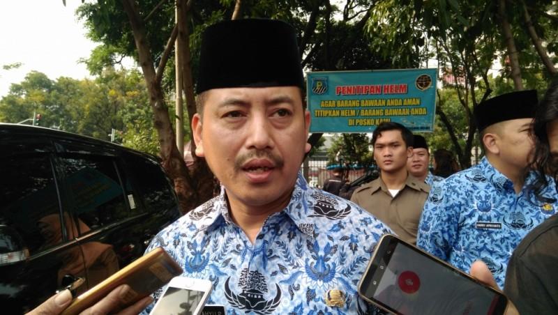 Kasatpol PP DKI Jakarta Yani Wahyu Purwoko
