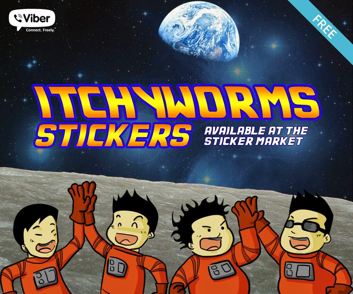 Viber Philippines releases Itchyworms stickers for free