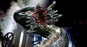 Deep Rising monster sci-fi movie