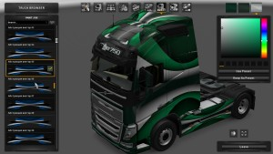 Metallic Vector Skin Pack for Volvo 2012 & 2013
