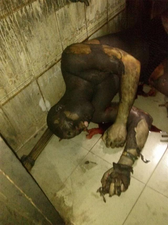 Very graphic: Two male students lose life in fire incident at Imo State Poly