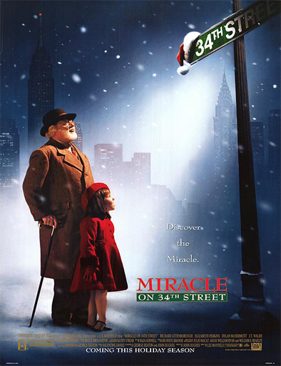 Ver Milagro en la calle 34 (Miracle on 34th Street) (1994) Online