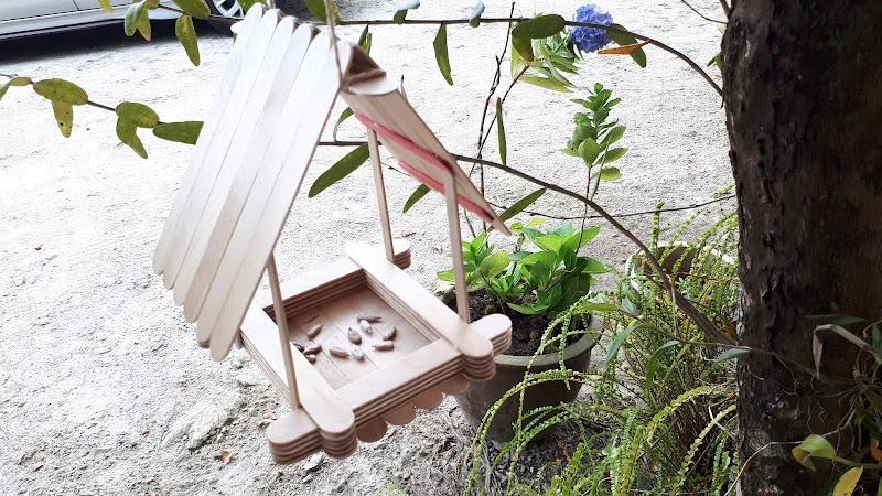 DIY | Bird Feeder Menggunakan Batang Aiskrim