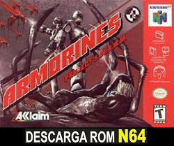 Armorines - Project S.W.A.R.M  64 ROMs Nintendo64