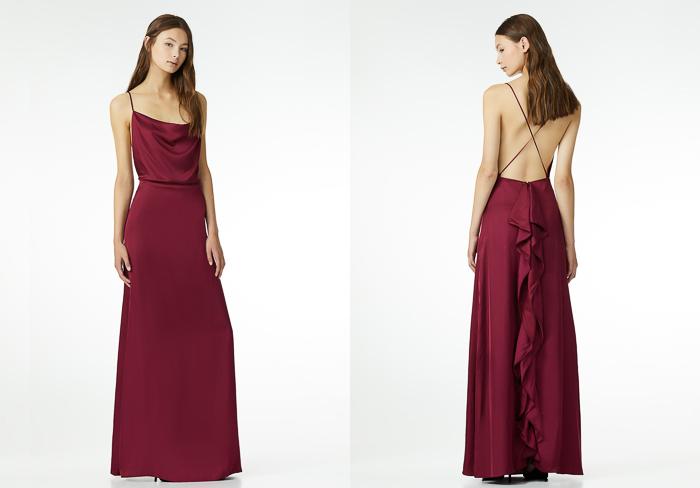 Maxi vestido largo fiesta Colección La reina del Edén de Liu Jo