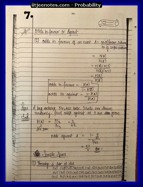Probability notes7
