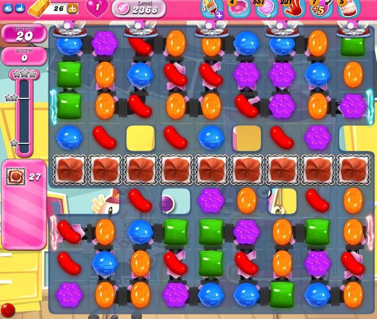 Candy Crush Saga level 2368