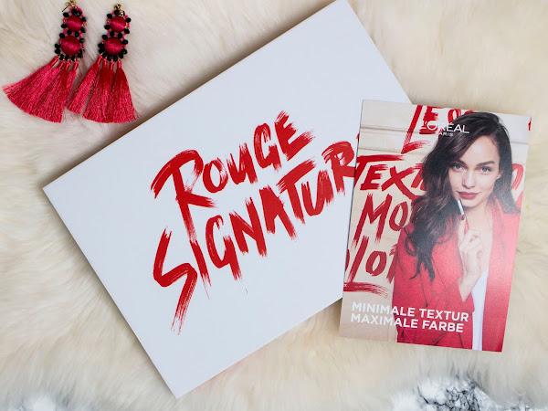 L'Oréal Paris Rouge Signature Lippenstifte