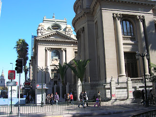 Biblioteca Nacional Santiago, Santiago de Chile, Chile, vuelta al mundo, round the world, La vuelta al mundo de Asun y Ricardo