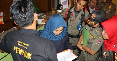 Waduh, 10 Pasangan Bukan Muhrim Diamankan di Kota Padang