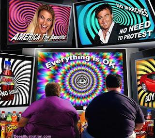 媒體洗腦體系