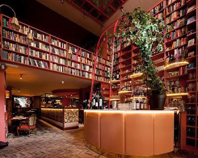 El nuevo restaurante que parece una biblioteca gigante