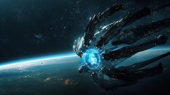 Spaceship, Sci-Fi, Space, 4K, #6.729