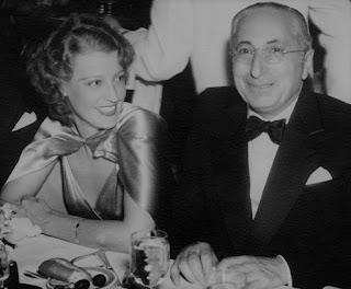 Jeanette MacDonald Louis B. Mayer 1935 Oscars