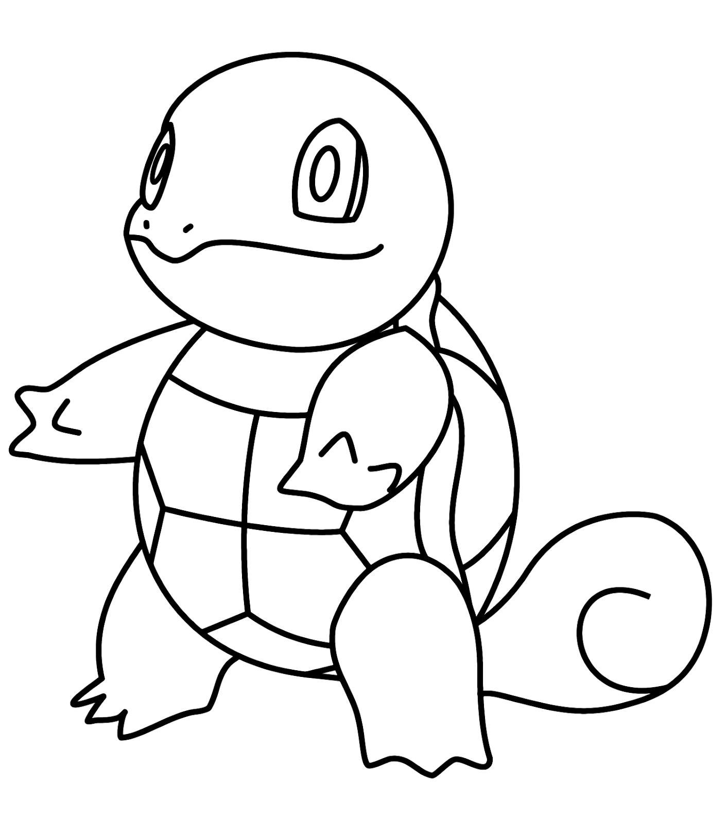 New Squirtle Coloring Pages Download - Free Pokemon ...