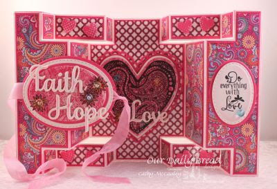 Our Daily Bread Designs, Boho Love, ODBD Custom Ornate Hearts Die, ODBD Custom Faith, Hope, Love Dies, ODBD Custom Ovals Dies, ODBD Custom Stitched Ovals Dies, Beautiful Boho Paper Collection, Designed by Cathy McCauley