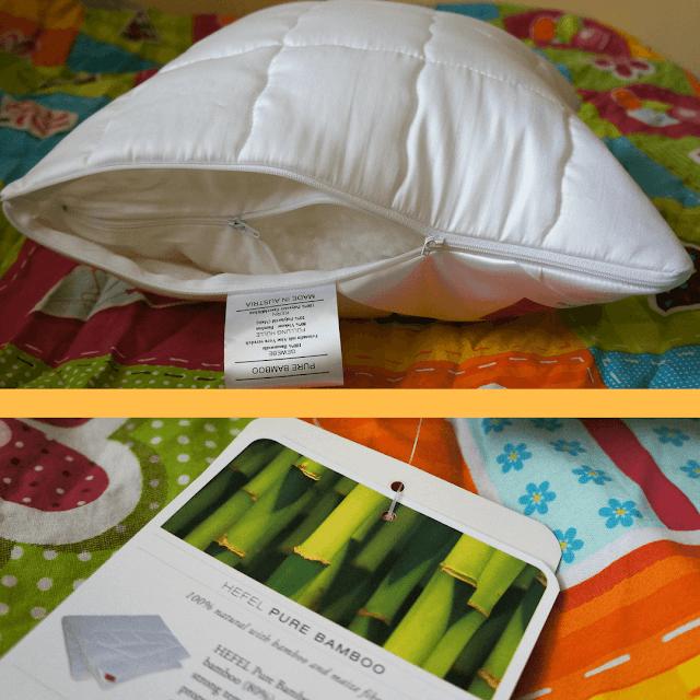 poduszka z bambusa