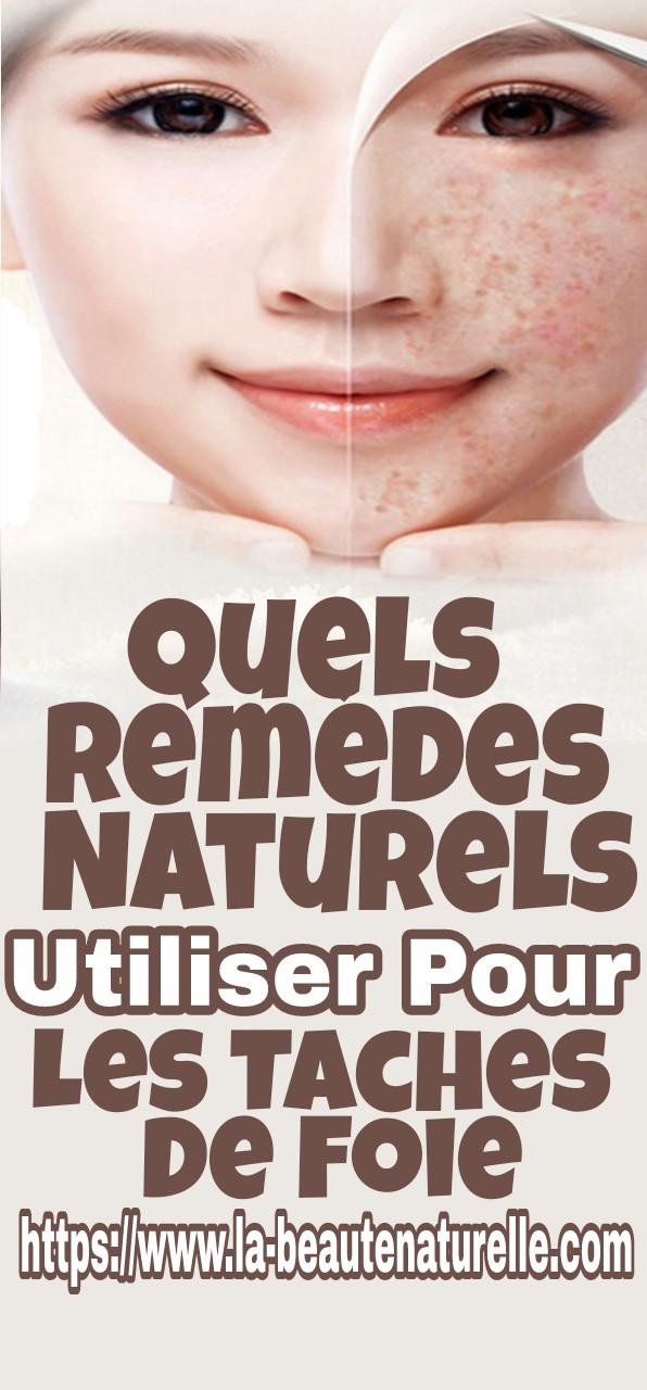 Quels remèdes naturels utiliser pour les taches de foie