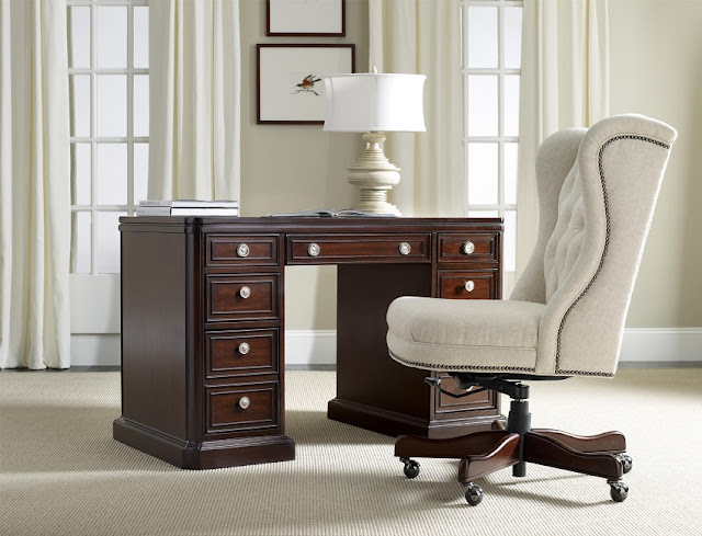 best buy wooden home office desk with locking drawers for sale