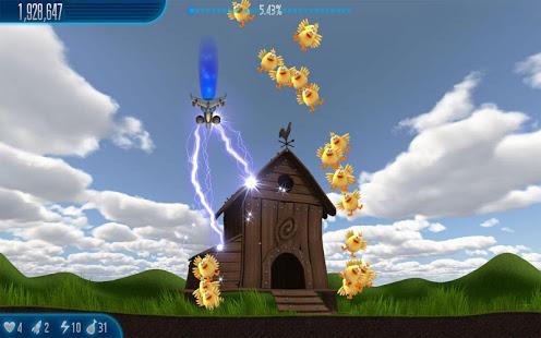 تحميل لعبة الفراخ للاندرويد كاملة مجانا chicken invaders