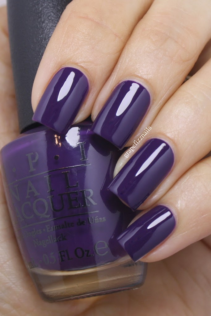 Opi Coca Cola Nail Polish Collection Partial: Grape Fizz Nails: Coca-Cola By OPI, New Collection