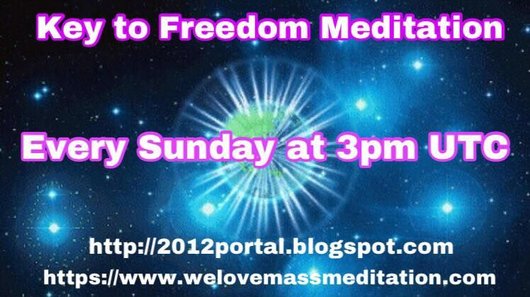 MAKE THIS VIRAL! WEEKLY KEY TO FREEDOM MEDITATION