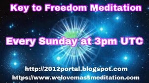 Key to Freedom Meditation every Sunday at 3 PM UTC