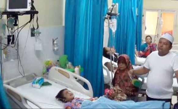 Bocah malang yang disiksa dan dikubur oleh ibu kandung dan ayah tirinya hidup-hidup