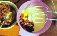 Tort cu crema de curmale