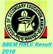 Manipur Board HSLC Result 2016