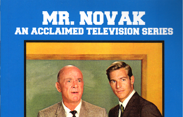 mr novak chuck harter an acclaimed television series james franciscus dean jagger e jack neuman marilyn scott peabody award the tom gulley show